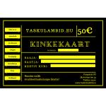 Taskulambid.eu kinkekaart 50€